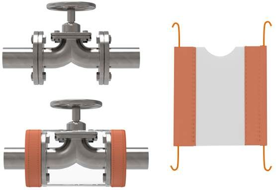 Ectfe diaphragm valve guards flangeguards pressure testing video ccuart Choice Image